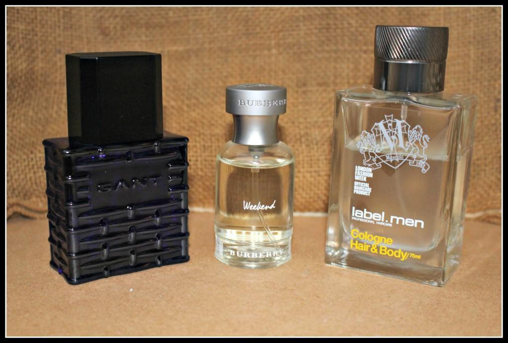 Burberry, Gant, Label.men, men's scents, men's fragrances