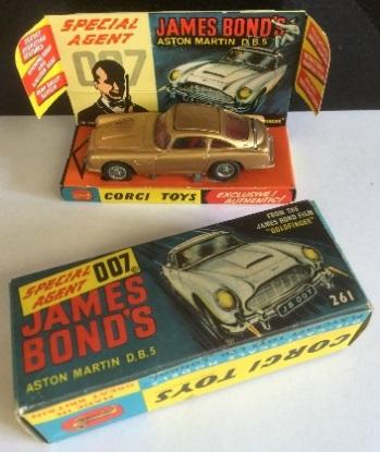 James Bond, antiques, antique toys,