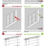Infographic; Fitting child-safe window blinds