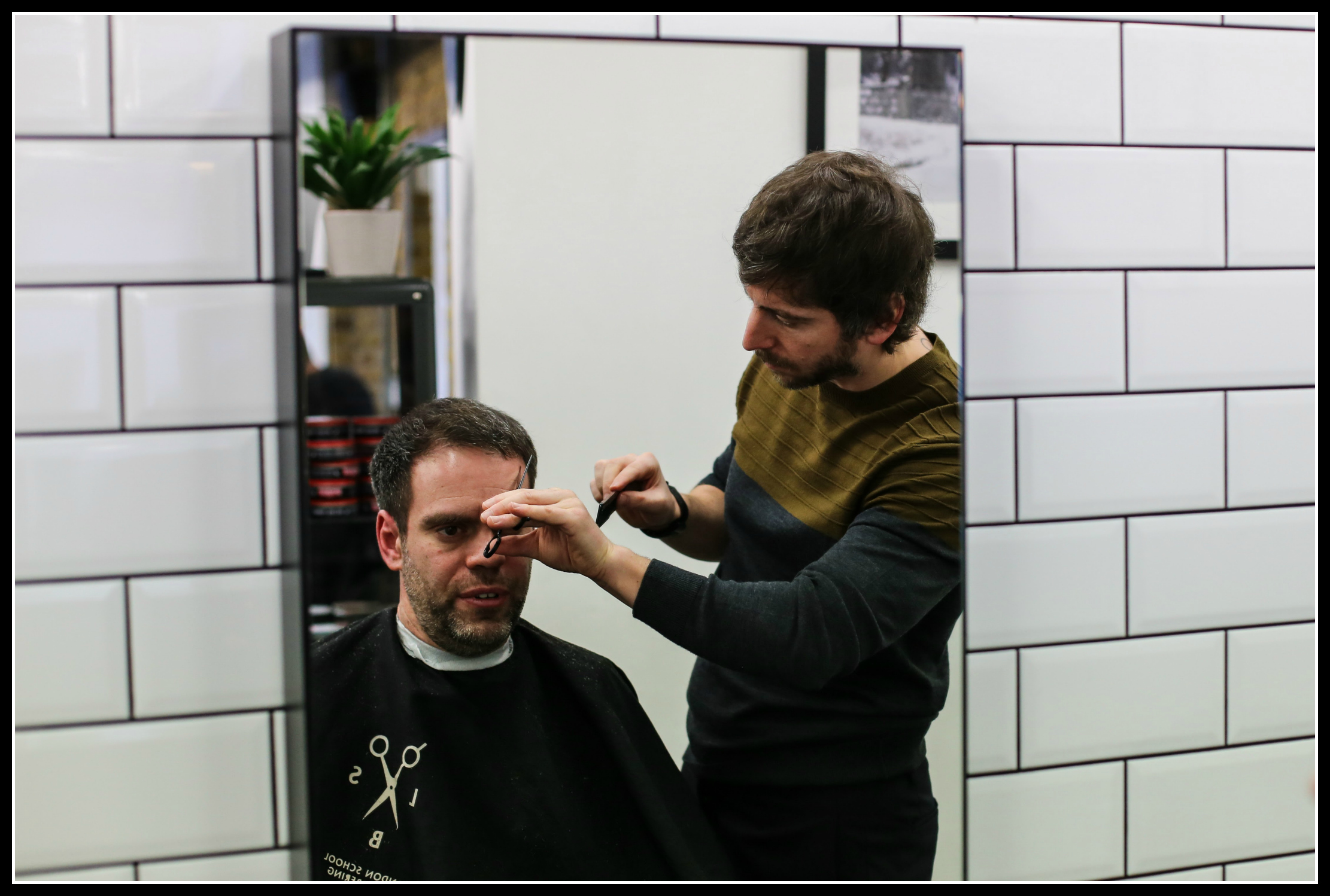 London Schol of Barbering, barber, haircut, hair style, men's style, men's fashion