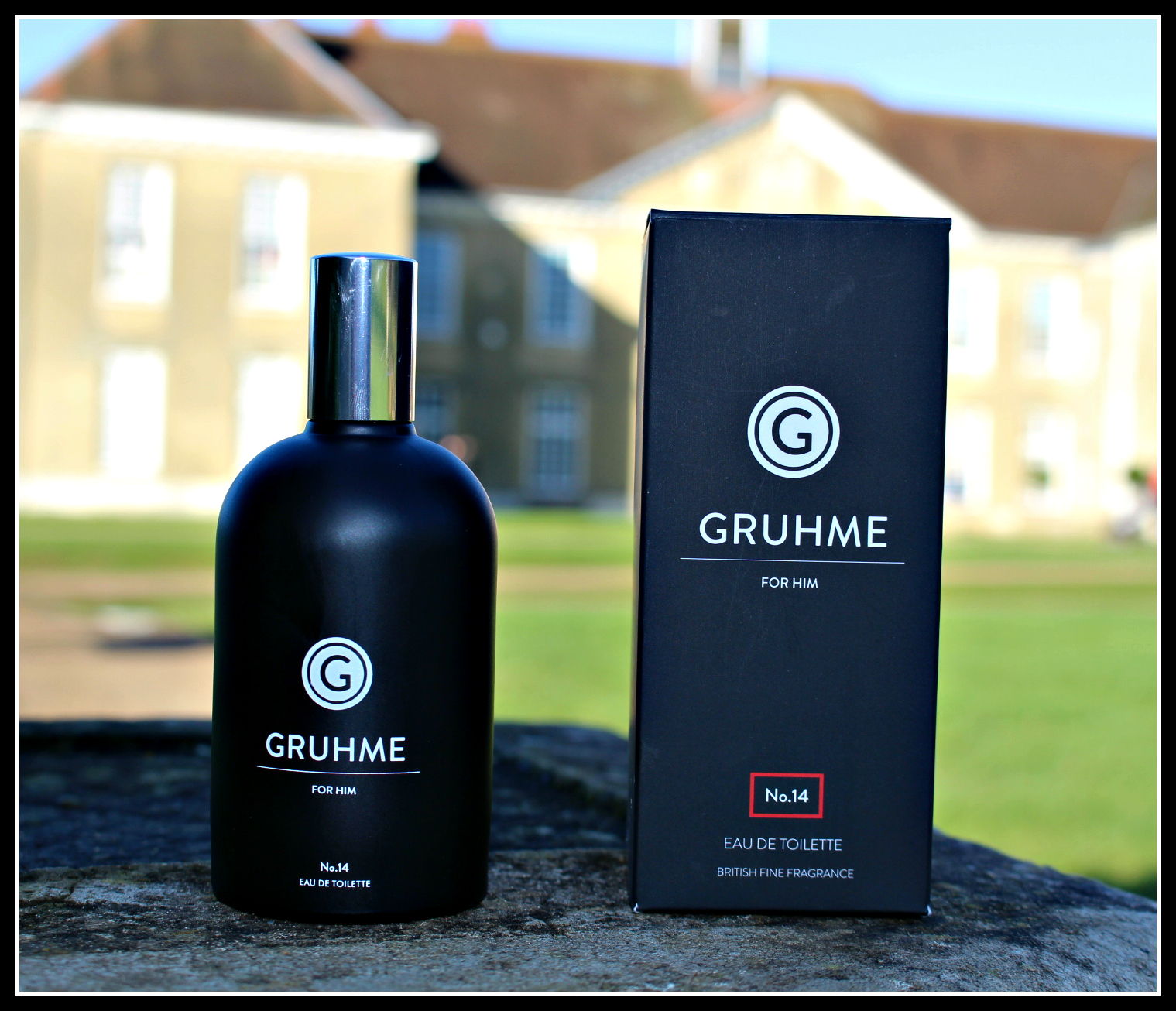 Smelling great with Gruhme, looking good with men-ü