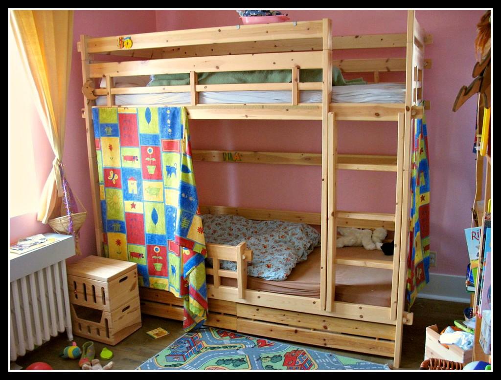 Детские кровать своими руками фото
