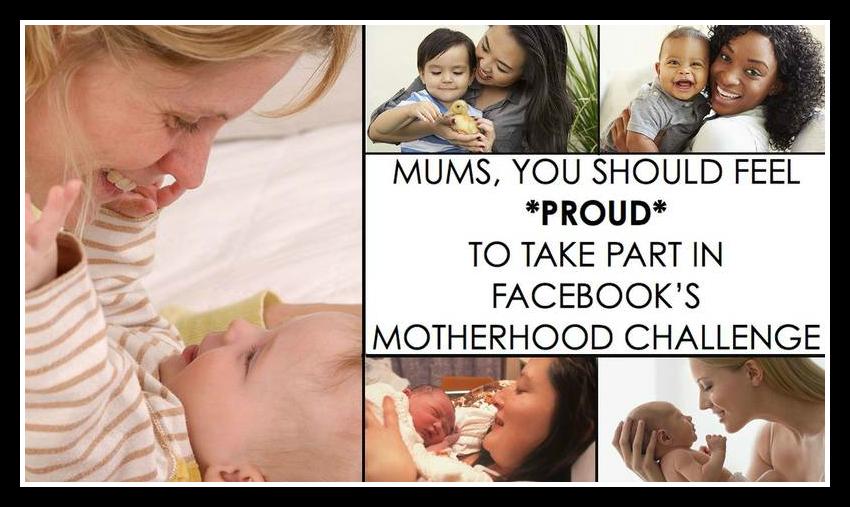 Fcebook Motherhood challenge, Motherhood Challenge