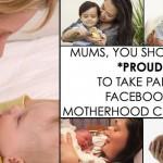 Facebook Motherhood Challenge? Whatever.