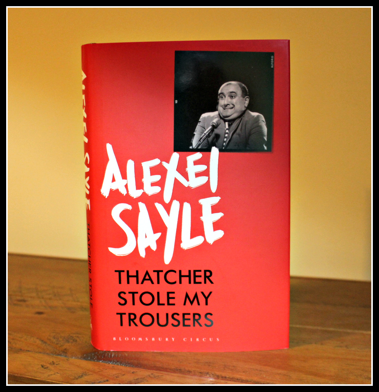 Alexei Sayle, giveaway, competition, books, reading, Thatcher Stole my Trousers, comedian, comedy,