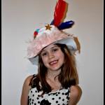 Helen's Easter bonnet
