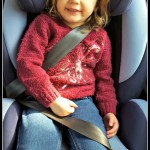 Trying out the Joie 'every stage' car seat