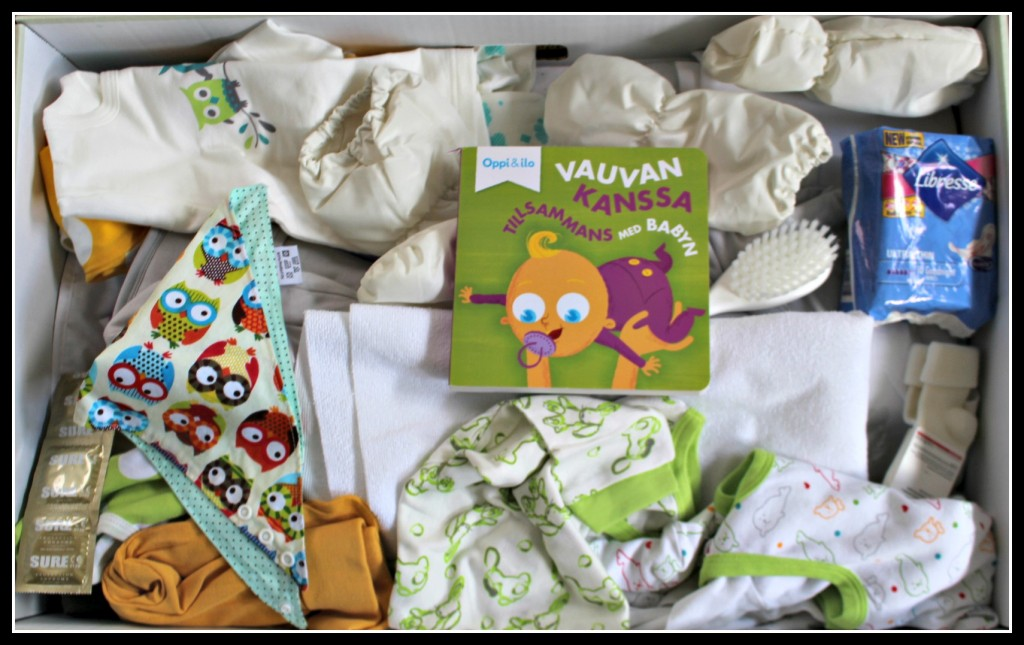 Finnish Maternity Package, Nokia, Moomins, Lordi