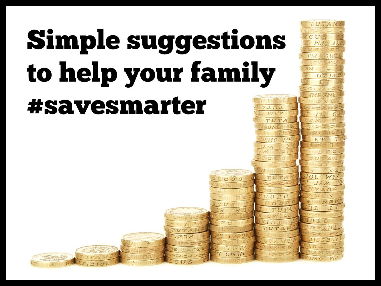 Simple ways to #savesmarter