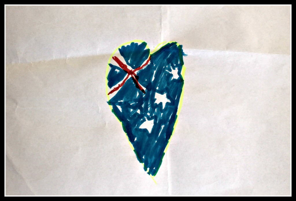 Australia, Melbourne, flag, freedom, children