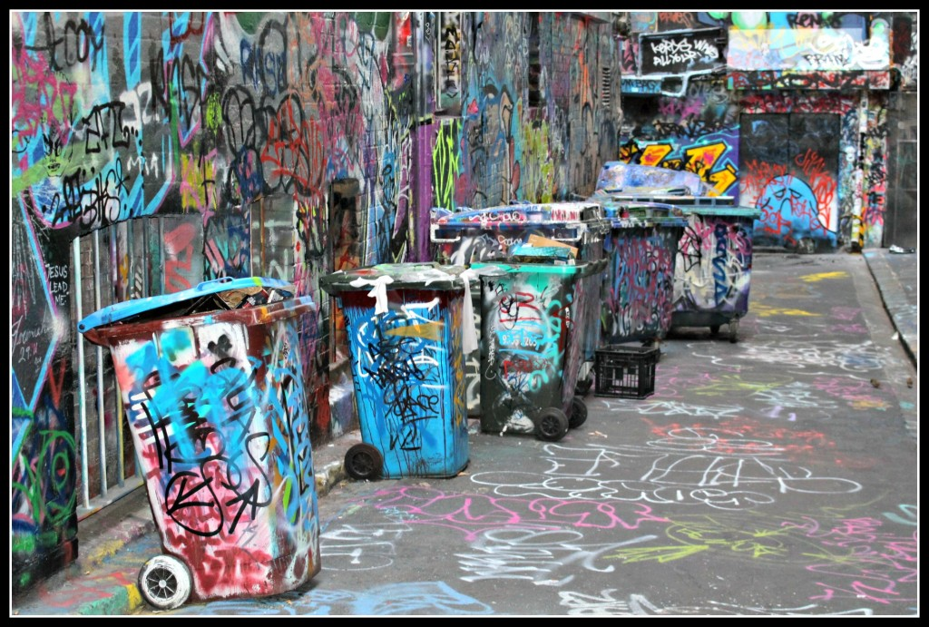 Graffiti, Melbourne, Australia, Hosier Lane, The Lanes,