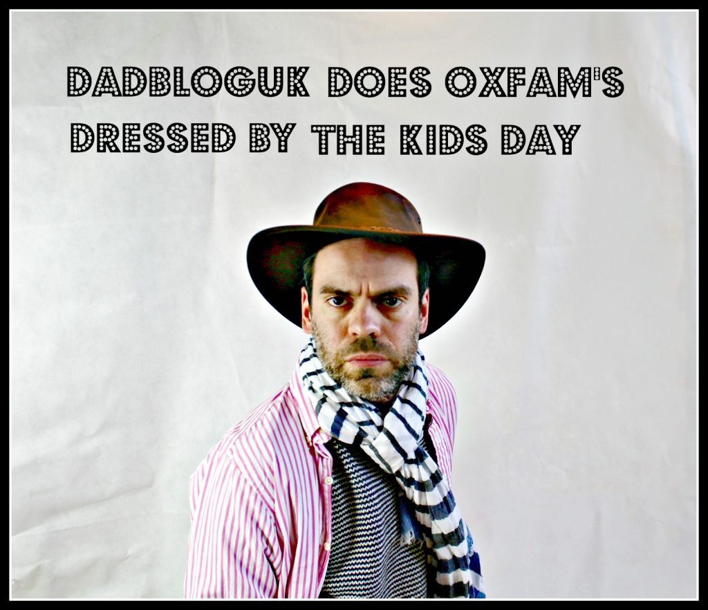 dressed by the kids day, Oxfam, charity