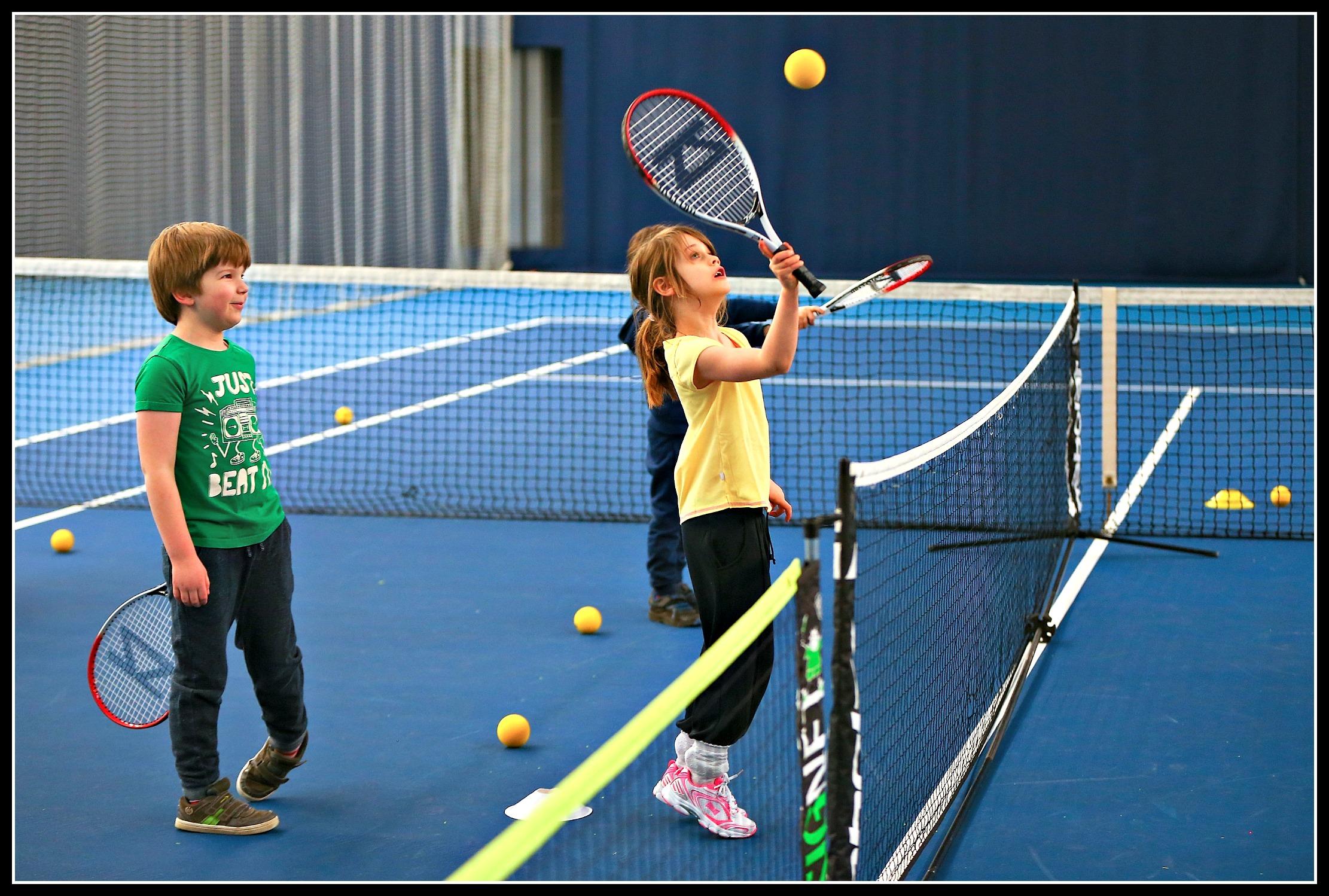 The fun way of introducing kids to tennis