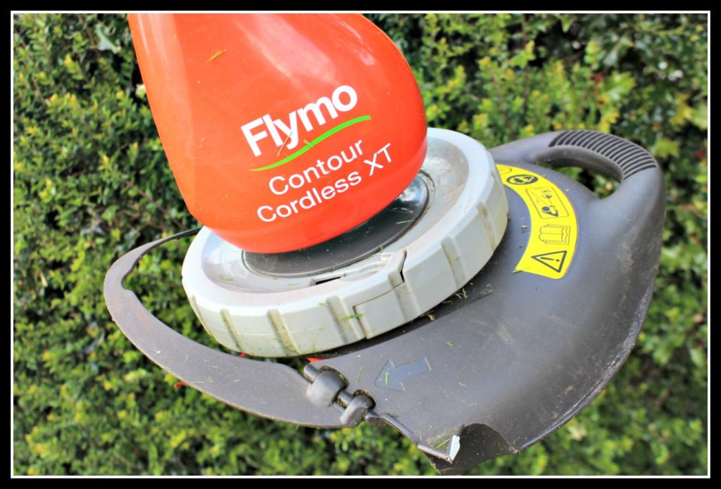 Flymo, Flymo Contour Cordless XT, garden strimmer, home maintenance, home improvement
