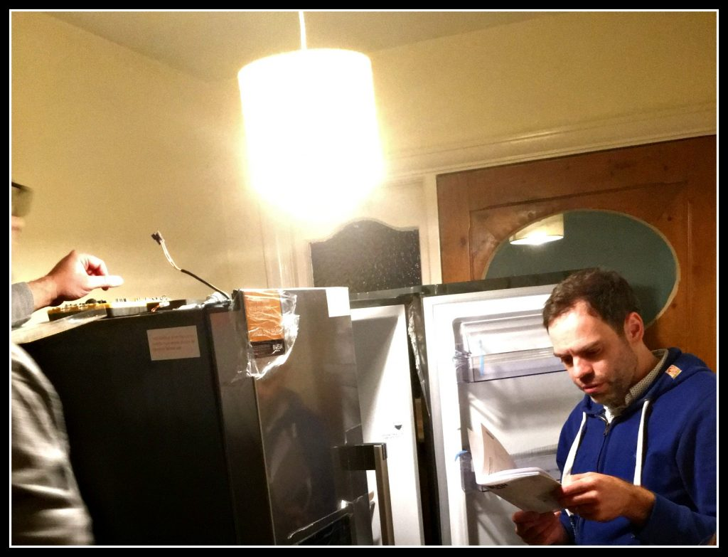fridge, freezer, fridge freezer, family life, humour