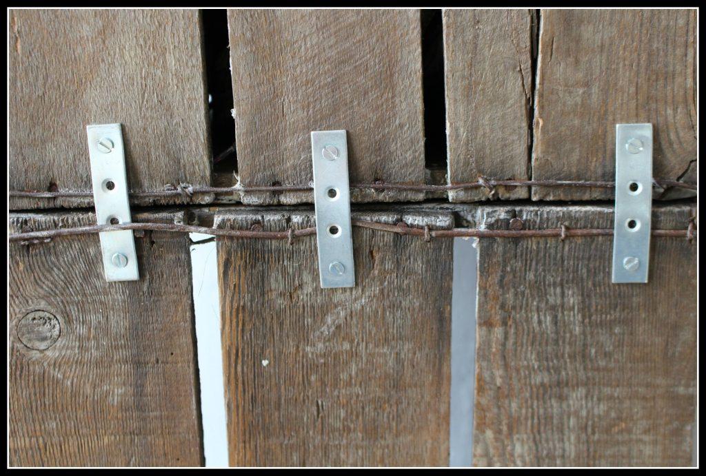 mending plates, boot and shoe rack, shoe rack, boot rack, Roseal, wood wax.