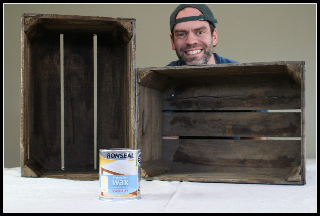 Ronseal, wood wax, home improvement, DIY, boot rack, family home