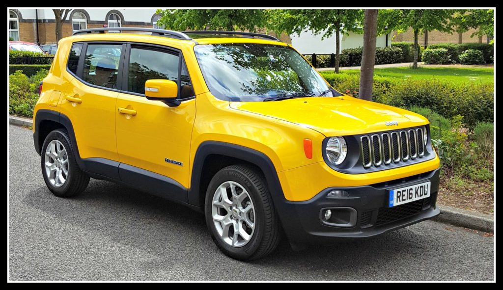 Jeep Renegade 4x4 >> Jeep Renegade; a good family car? - Dad Blog UK