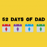 Highlighting social isolation of young fathers #52DaysOfDad