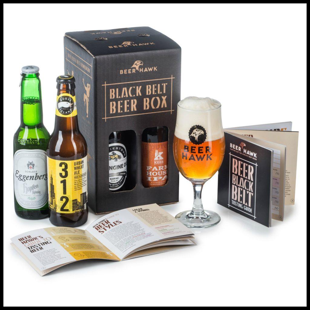 Beer Hawk, Black belt beer box