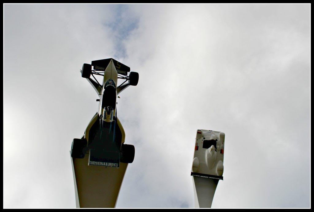 Goodwood festival of Speed, BMW, Shell, sculpture, main feature