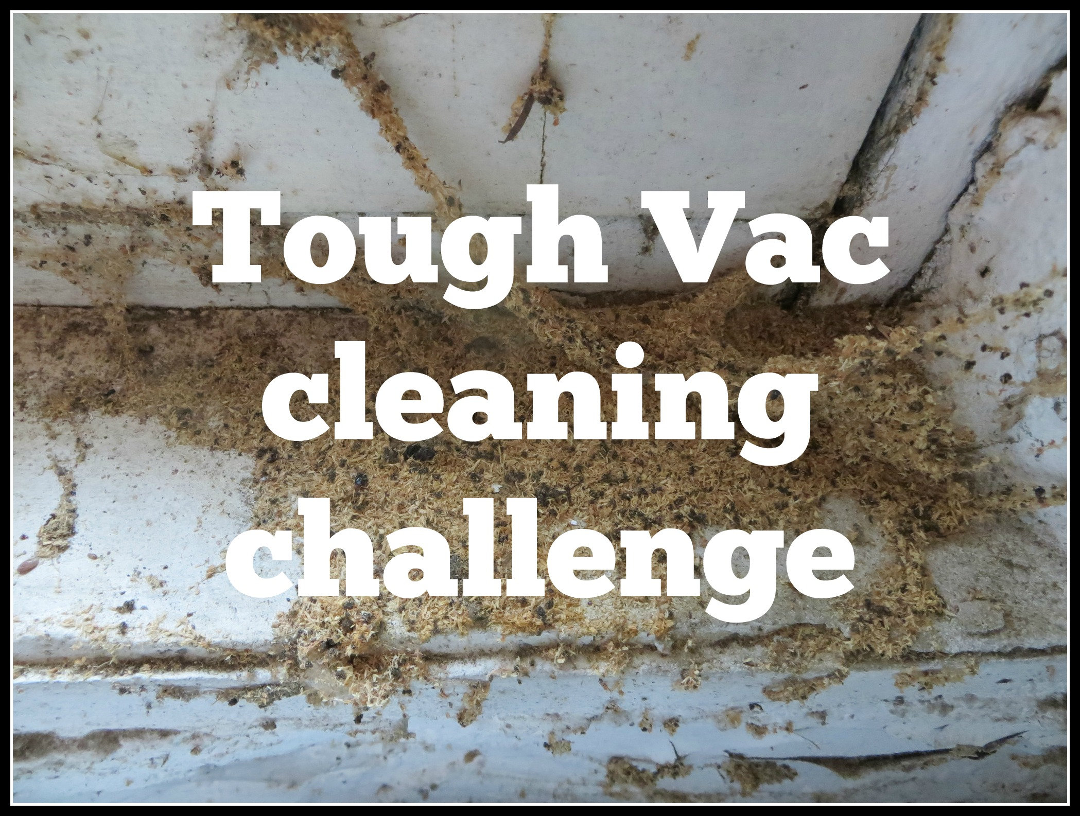 Tough Vac cleaning challenge