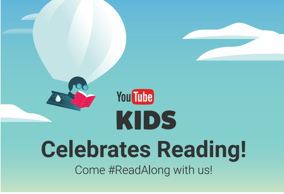 YouTube, YouTube Kids, #ReadAlong, read ALong, summer holidays, summer vacation, Simon and Schutser, SpacePOP, Freckles, Book with no Pictures