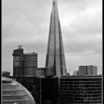 The Shard, as seen from Tower Bridge
