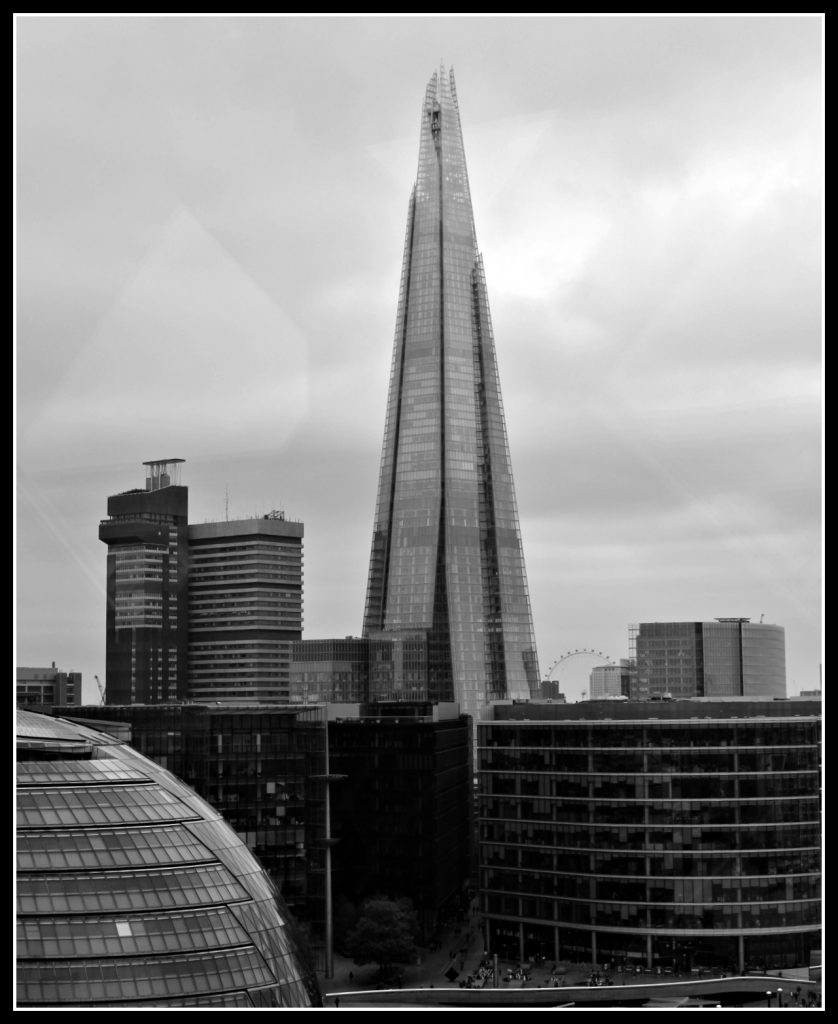 Shard, The Shard, City Hall, London Eye, Tower Bridge, view from Tower Bridge