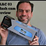 Keeping my eyes on the road with the RAC 03 dash cam.