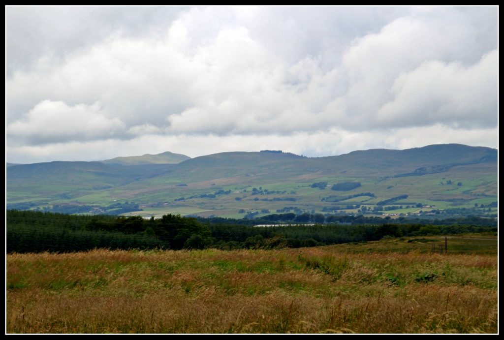 Scotland, Campsies, summertime in Scotland