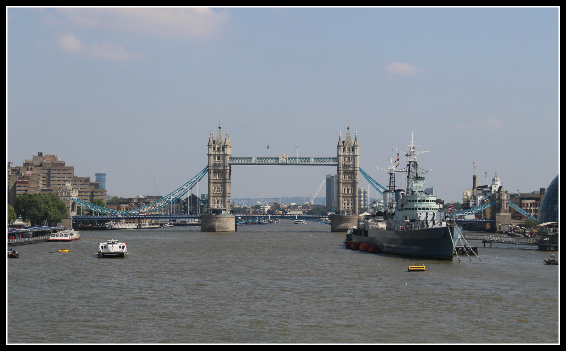 The River Thames on a sunny day
