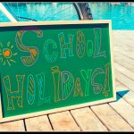 Summer holidays; good luck and have fun
