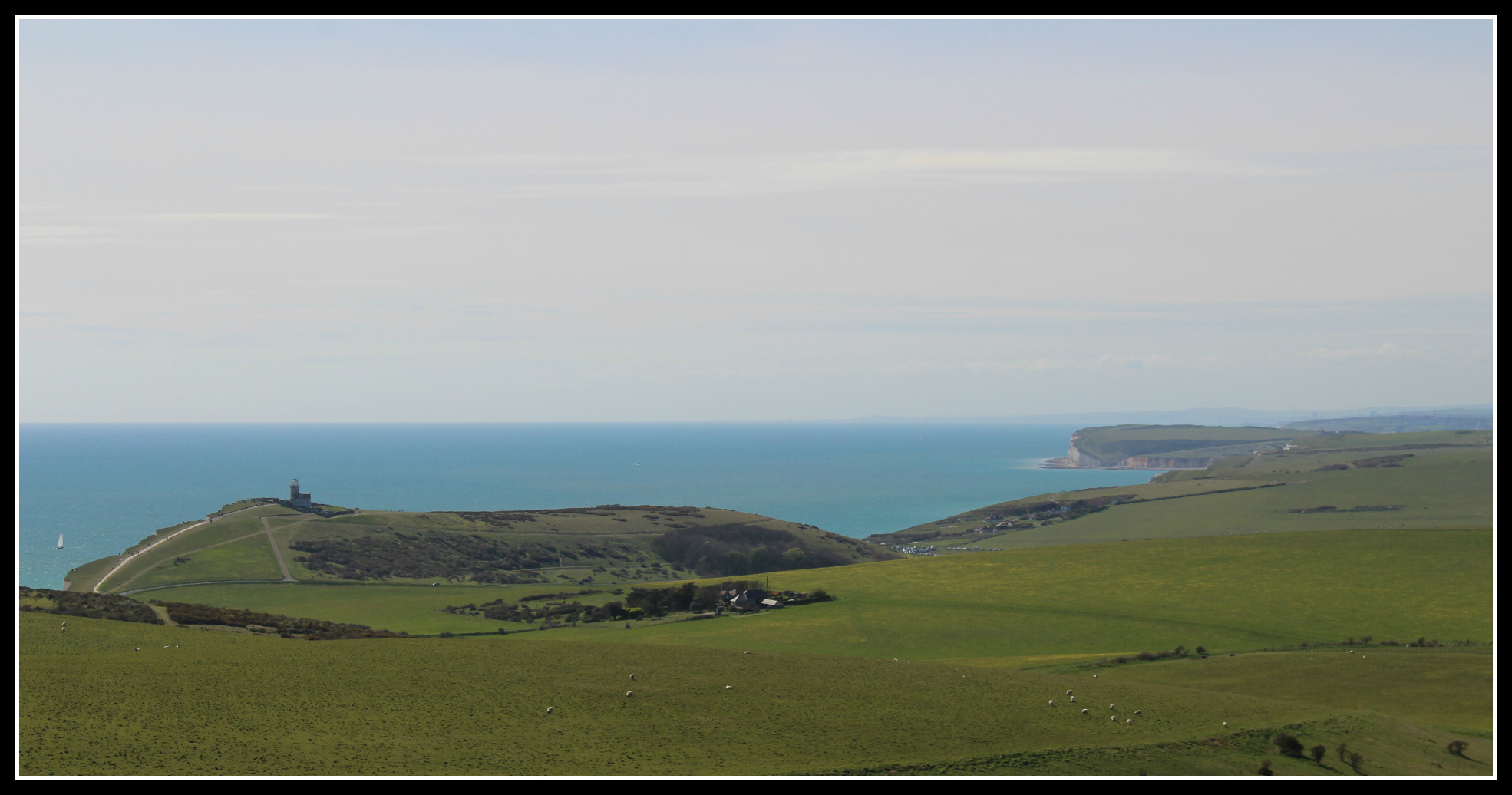 Belle Tout Lighthouse and Seven Sisters