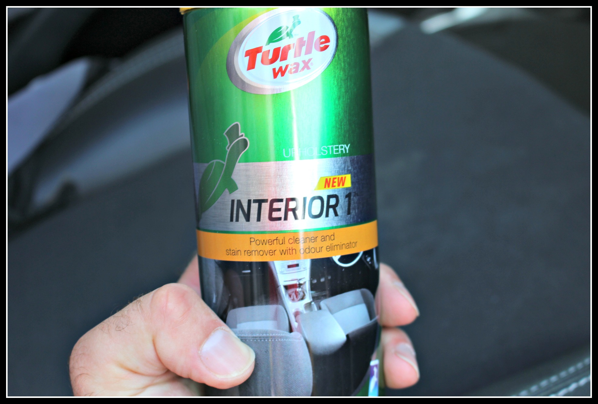 Trying out the Halfords car cleaning range