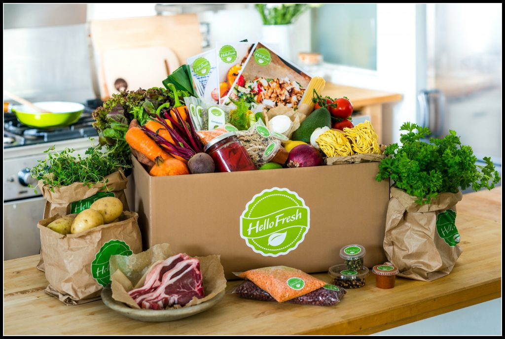 HelloFresh, Home Cooking, Jamie Oliver, recipes, delivery service