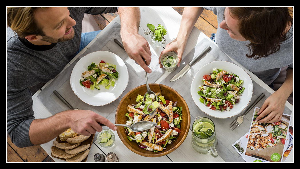 Home cooking, the HelloFresh way