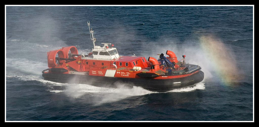 hovercraft, Canadian coast guard, science experiments for kids
