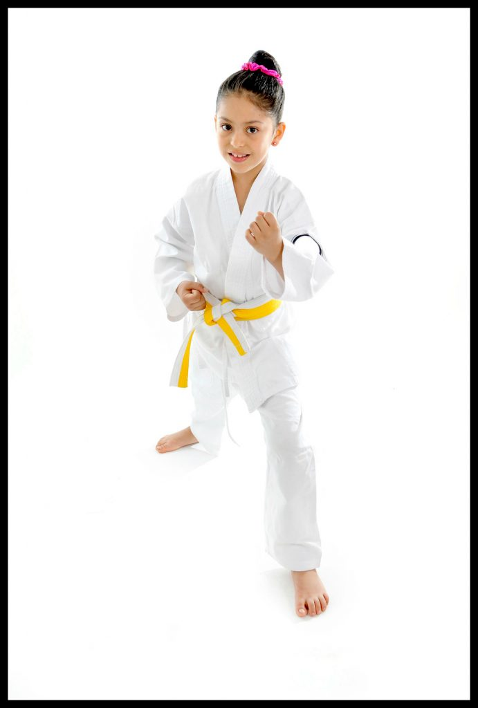 karate, swimming, active children, healthy children, sport, martial arts