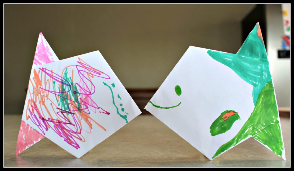 origami, arts and crafts, children, arts and crafts for children, development, creativity, creative play for children