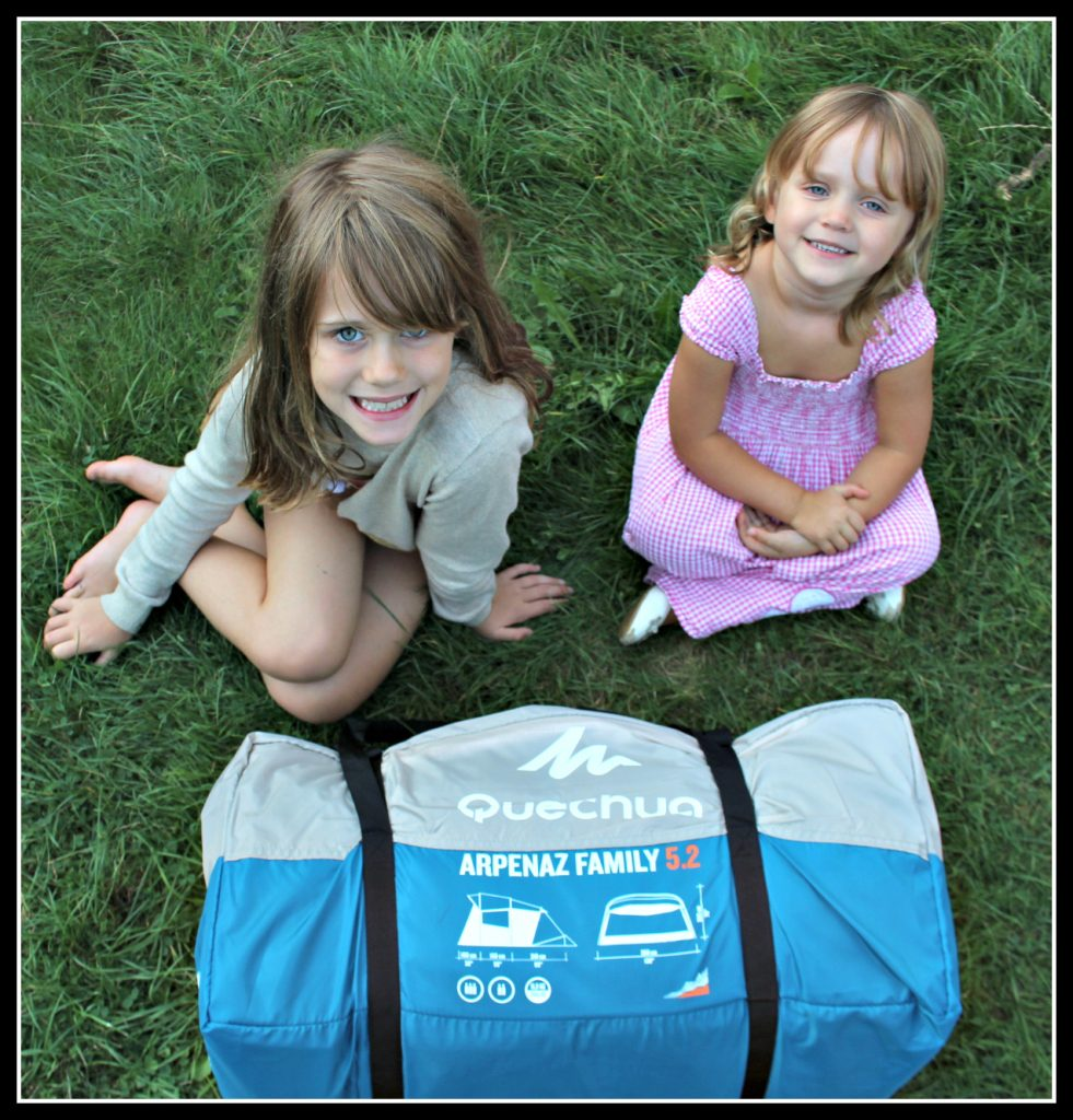 Camping, camping with children. Decathlon, family camping trip,