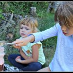 Science experiments for kids: making a volcano