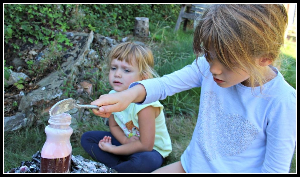 Science experiments for kids: making a volcano - Dad Blog UK