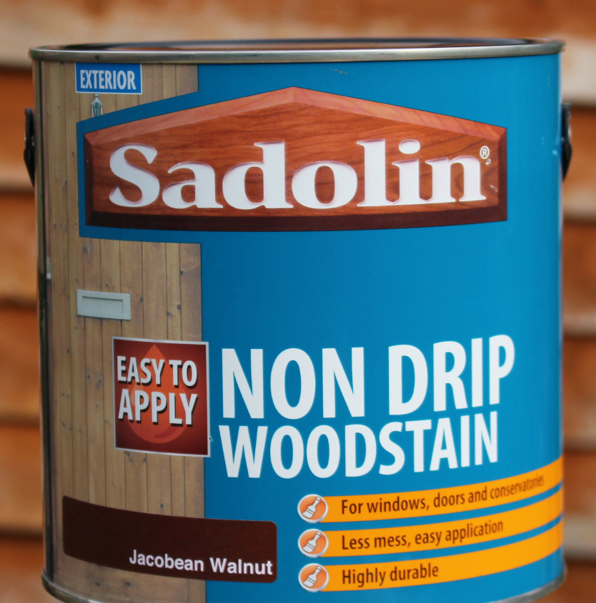 Sadolin, Sadolion and Sandtex, wood stain, woodstain