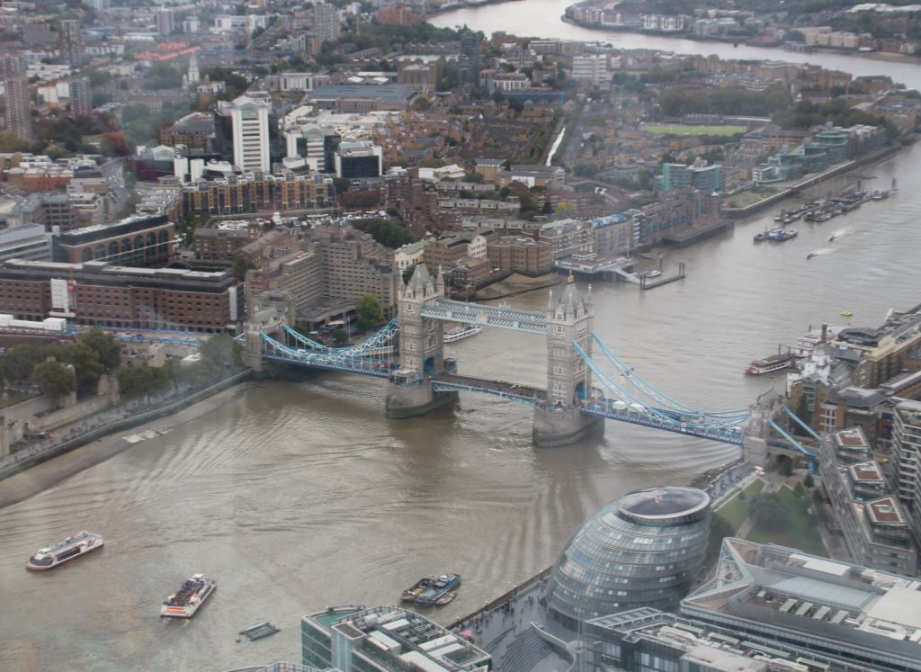 View From The Shard, The Shard, London, things to do in London with children
