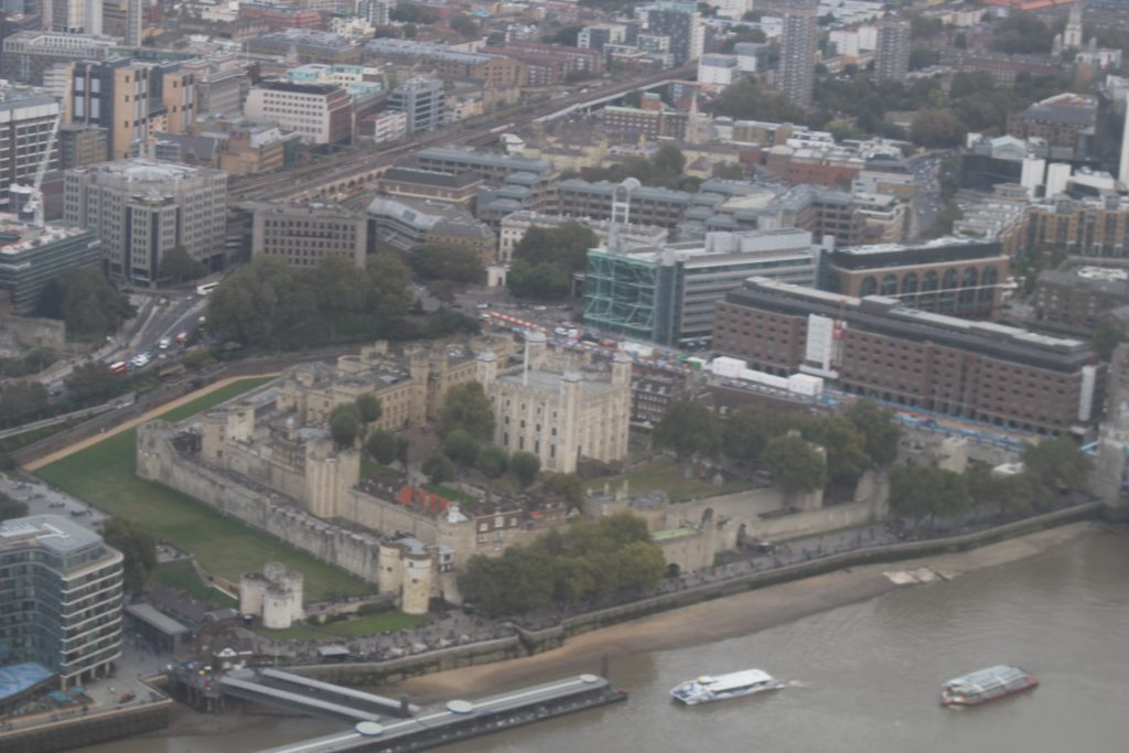 View From The Shard, The Shard, Tower of London