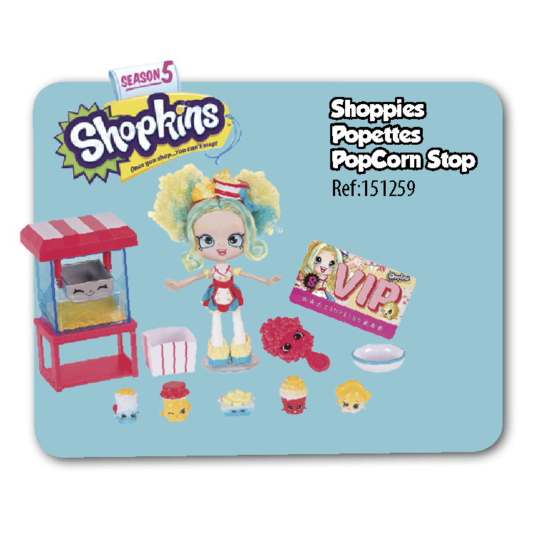 The Shopkins Shoppies Popcorn