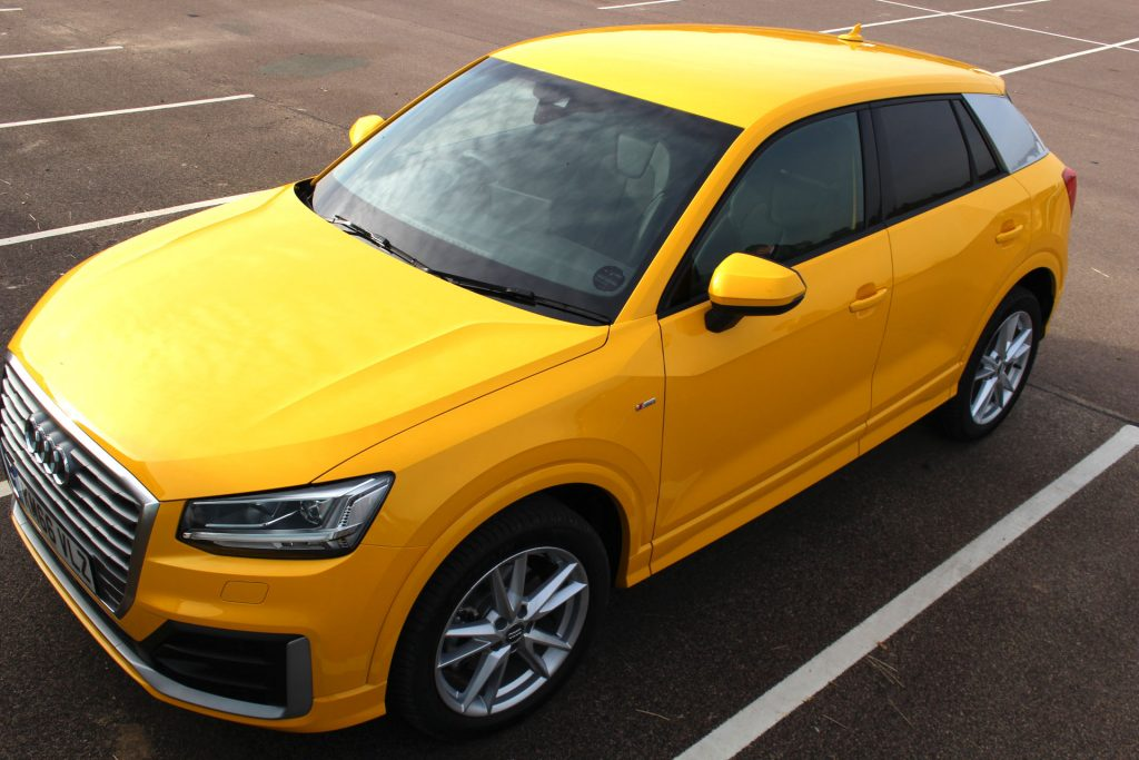 Audi, Audi Q2, Audi Q2 test drive, Audi Q2 review, first impressions of the Audi Q2