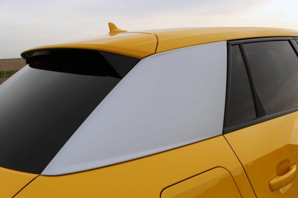 Audi Q2, c pillar, c-pillar, Audi Q2 review, Audi Q2 test drive, Audi SUV, Audi compact SUV