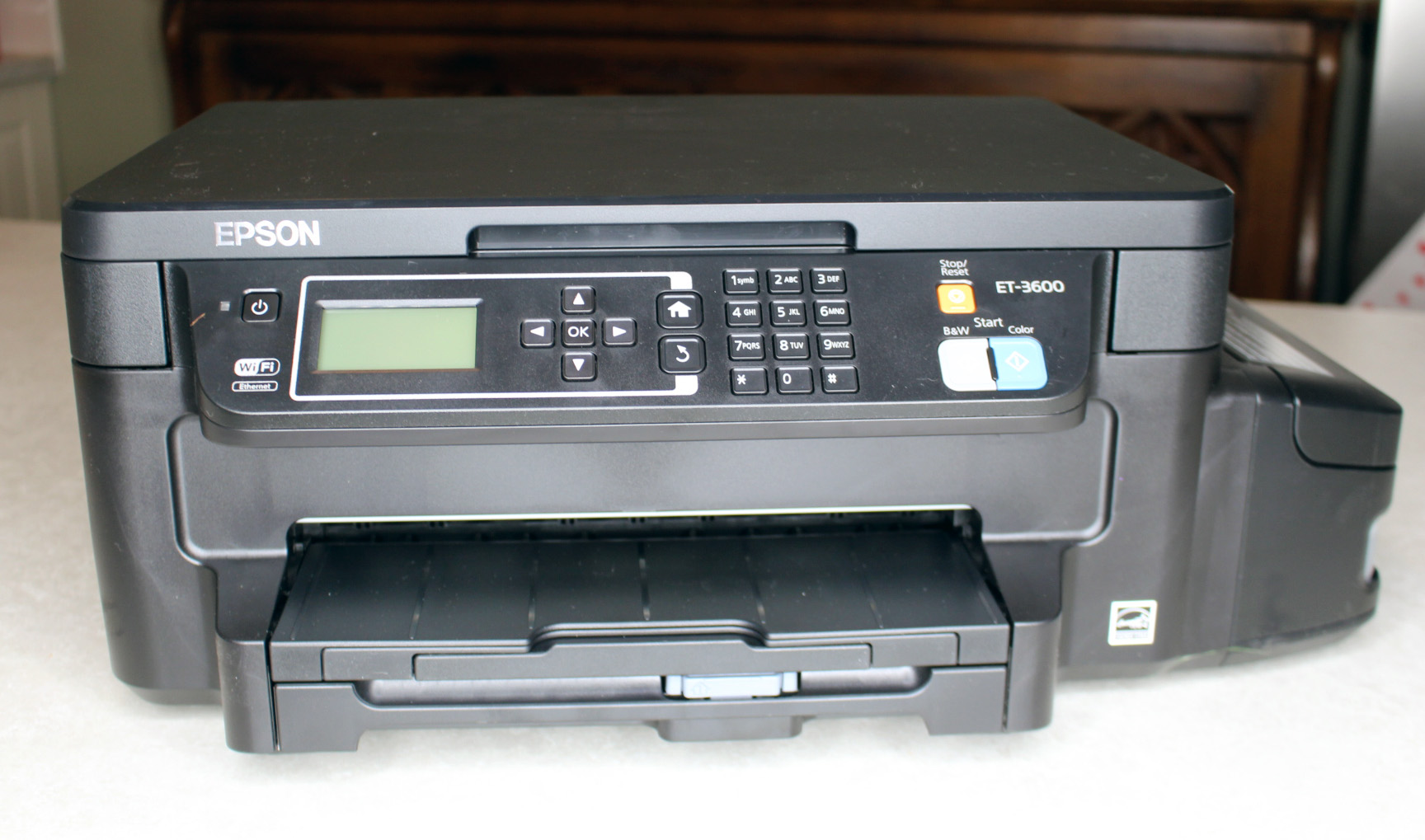 The Epson ET-3600: A family-friendly computer printer - Dad